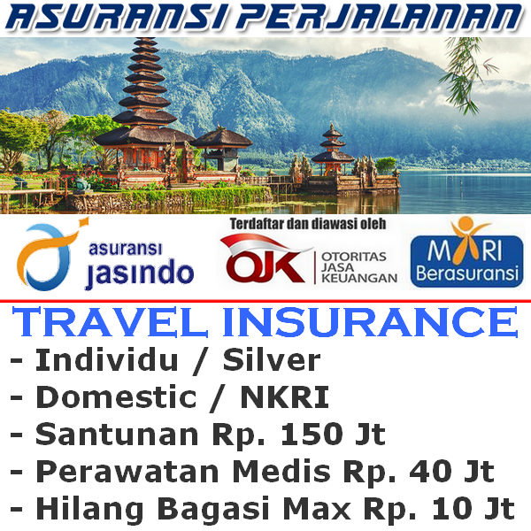 Jasindo Travel Insurance Domestik Silver Individu (Durasi Travel 21-25 hari)
